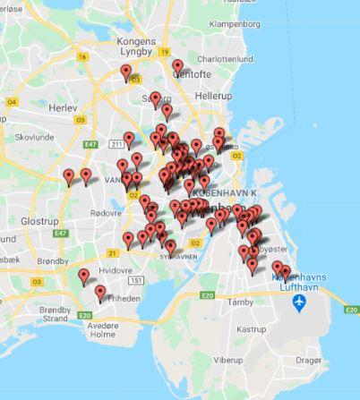 Andelsboliger i København med åbne ventelister